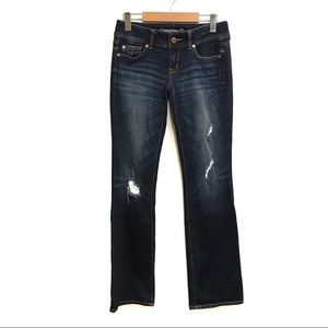 American Eagle Outfitters distressed jeans size 2